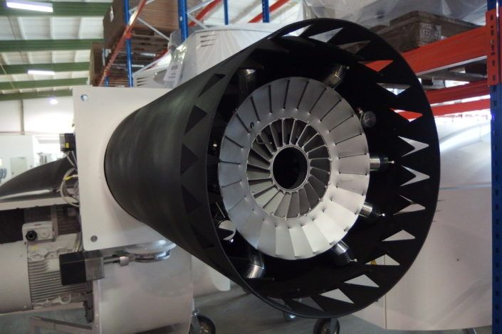 Konstrukcja lufy palnika