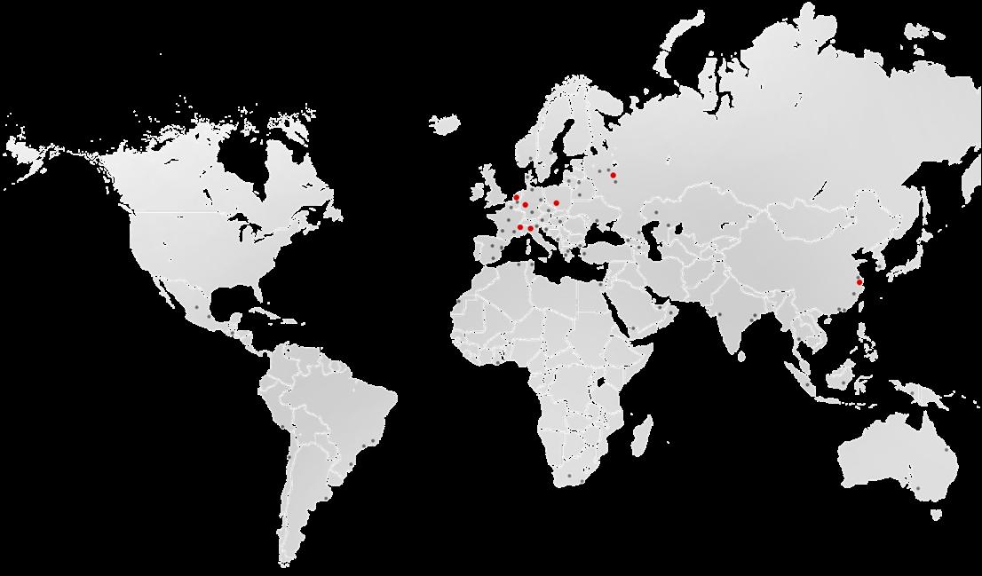 Mapa partnerów ELCO